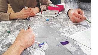 Von der Handskizze bis zum Geoinformationssystem - Planung am FNP erfordert viele Arbeitsschritte