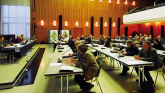 Einblick in eine Verbandsversammlung