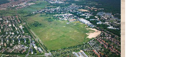 Der Alte Flugplatz in Karlsruhe